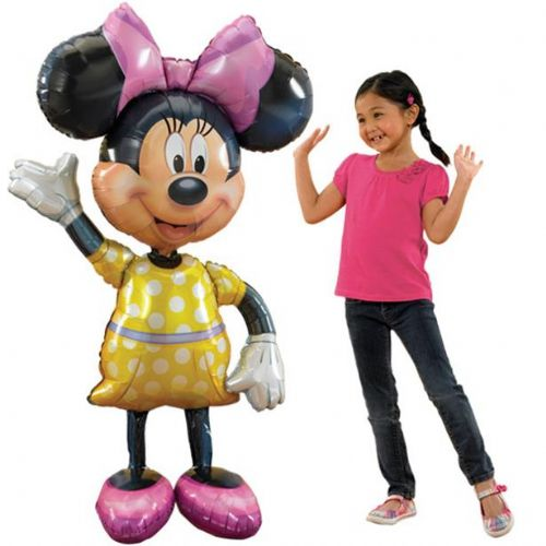 "Minnie Mouse Airwalker 54"" Foil Balloon (each)"
